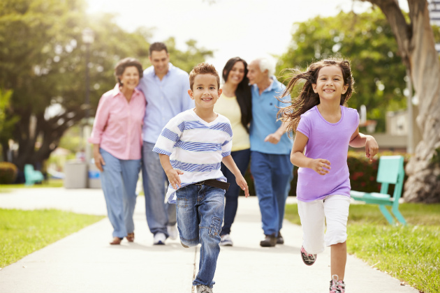 Parks offering health benefits that span generations