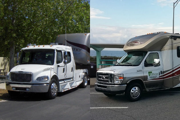 Full-time RV living: Should you buy a 5th wheel or a motorized RV?