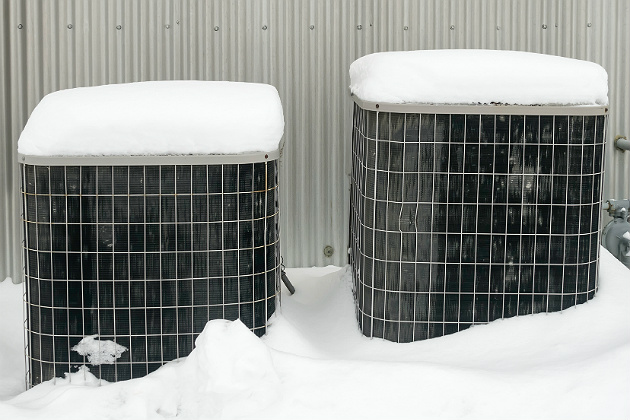 HVAC units require special care during the winter months