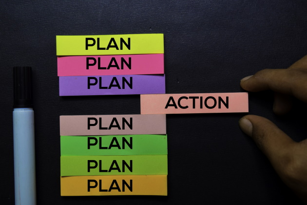 After the planning retreat: A strategic plan without implementation is nothing