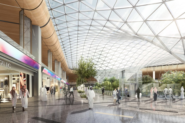 Doha Hamad International plans two-phase expansion