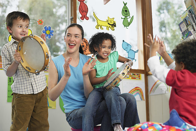 Fusing language acquisition with approaches to teaching music