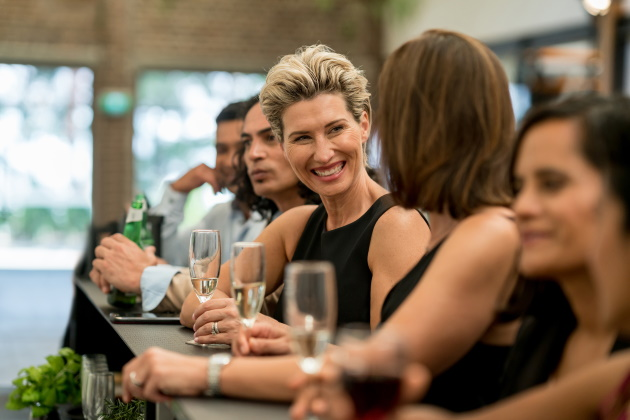 A female CEO and an HR professional walk into a bar…