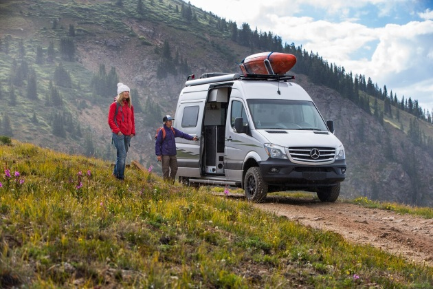 Winnebago surprises with its Revel 4x4 camper van