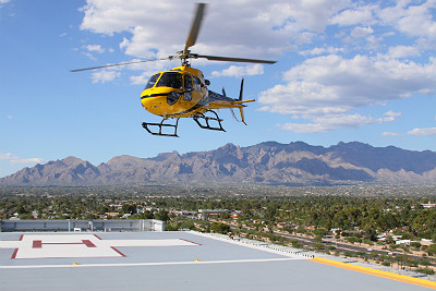 Flying physicians to stroke patients: A new intervention standard?