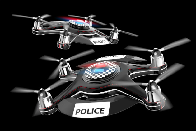 Flying body cameras: The next wave of police technology