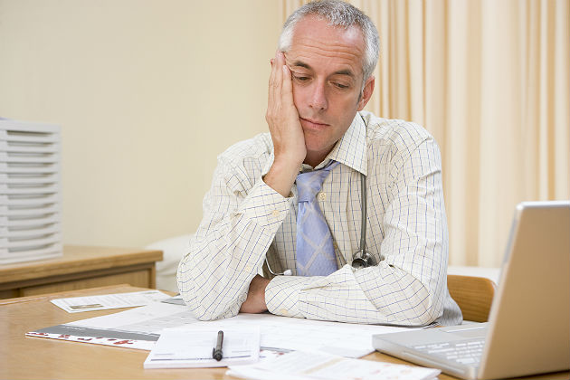 Research: American doctors are 'drowning in paperwork'