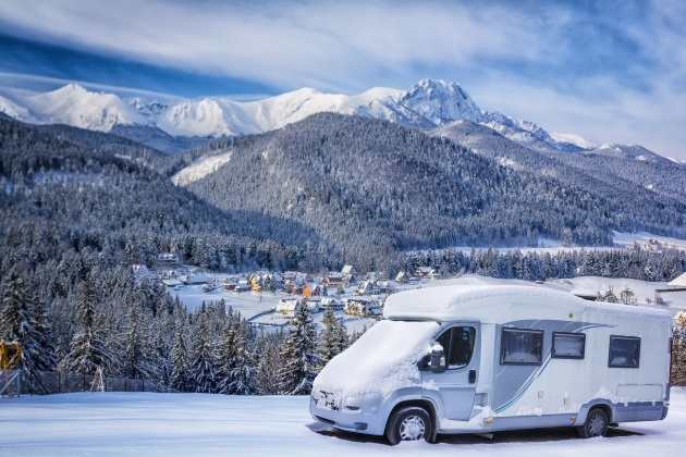 5 tips for planning a winter RV camping trip