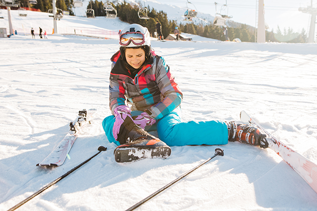 The low-down on skiing injuries: Frequency, type and prevention
