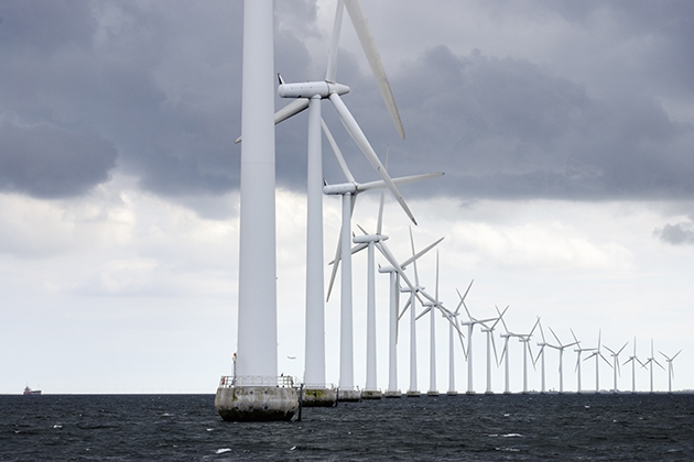 How a single offshore wind farm could power the globe