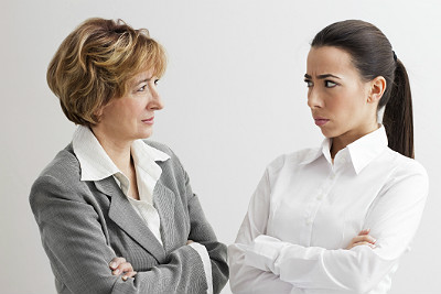 Why do women prefer male bosses?