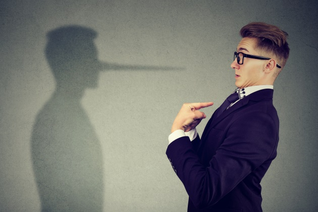 Little white lies can add up to destroy your credibility