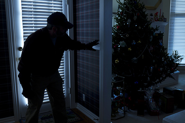 Police beef up security during the holidays