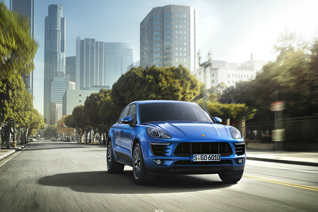 New Porsche Macan set to muscle in on Range Rover