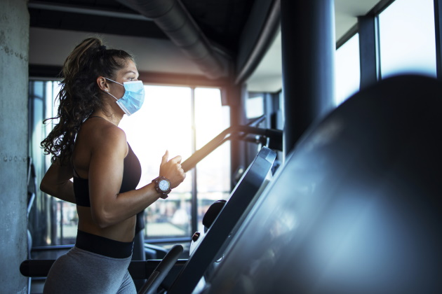 Study: Normal lung function remains intact during exercise despite mask wearing