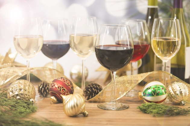 The best wines to serve at an office Christmas party