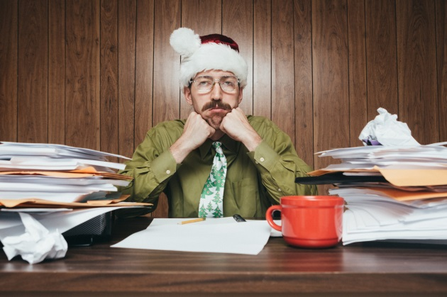 Over half of employees are uncomfortable asking for time off during the holidays