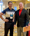 Giovanni Roselli and Bob Harris, CAE